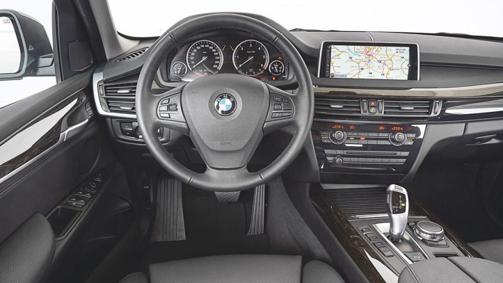 BMW X5 salpicadero