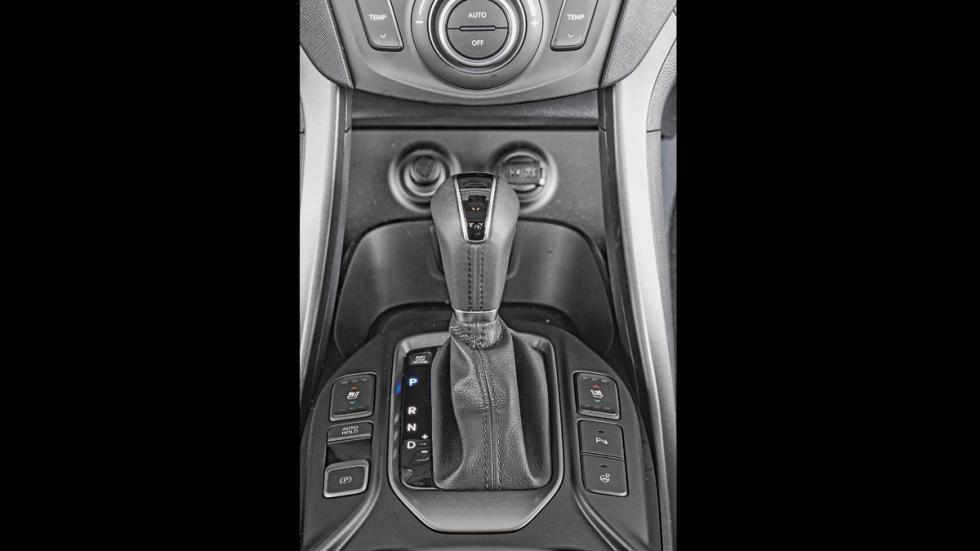 Hyundai Grand Santa Fe palanca cambios