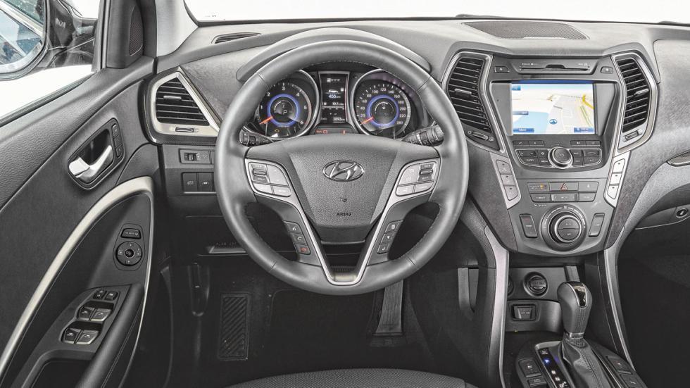 Hyundai Grand Santa Fe salpicadero