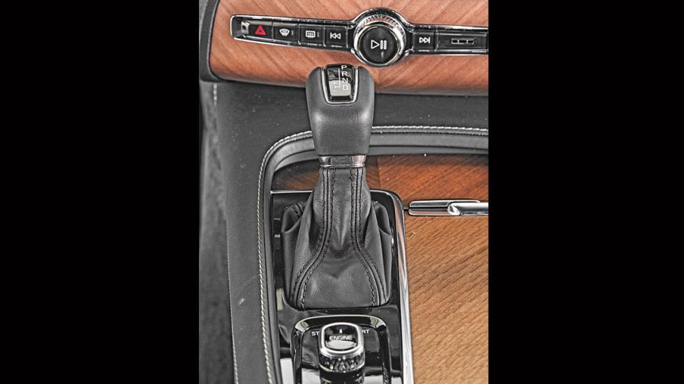 Volvo XC90 palanca cambios