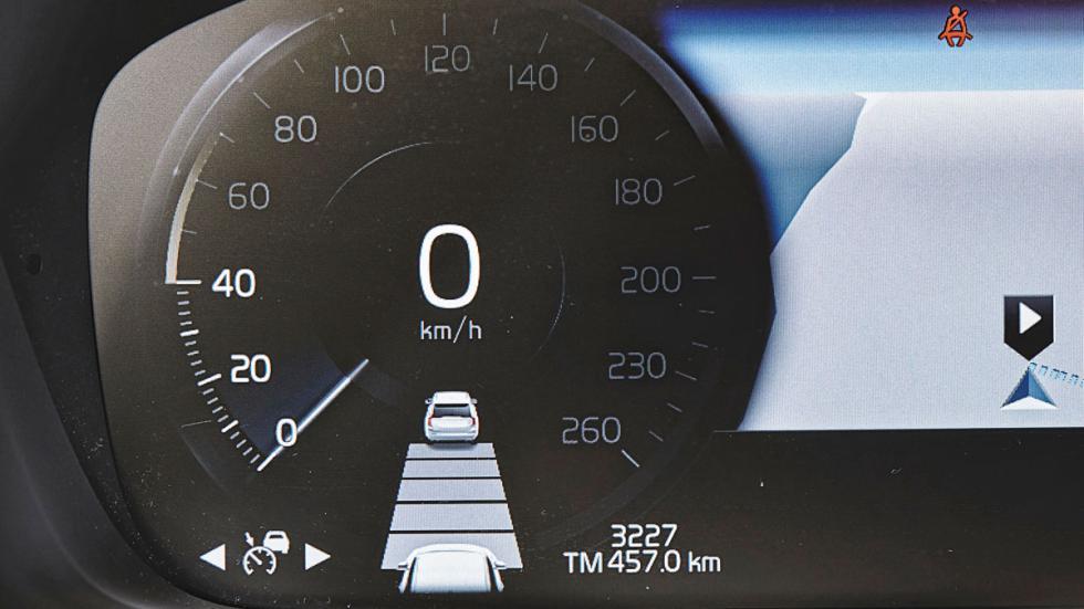 Volvo XC90 reloj