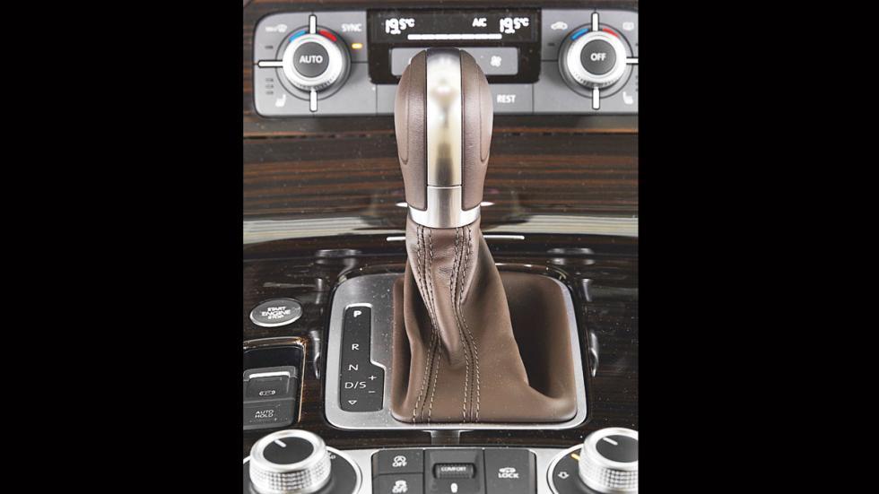 VW Touareg palanca cambios