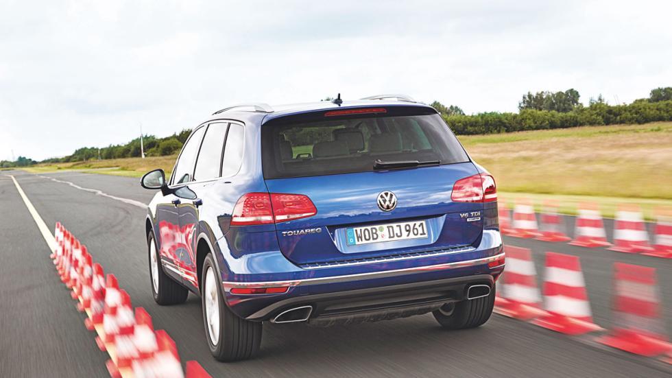 VW Touareg trasera