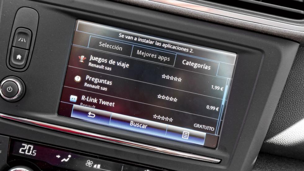 Sistema multimedia Renault Kadjar