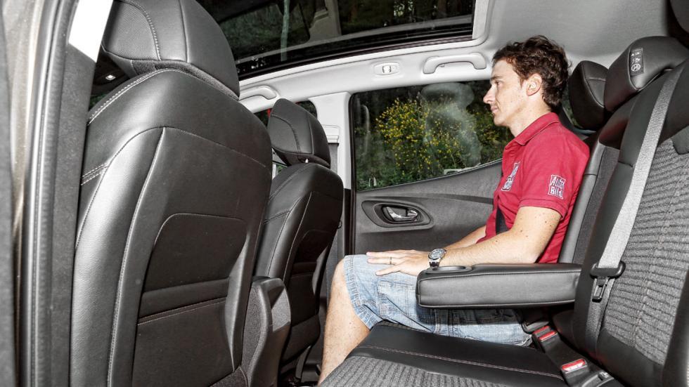 Plazas traseras Renault Kadjar