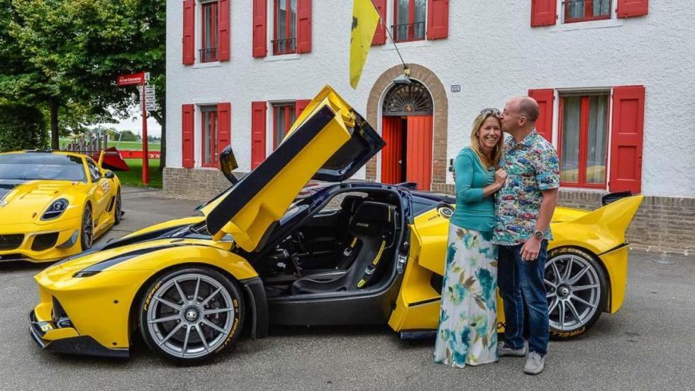 Ferrari FXX K regalo ejecutivo Google