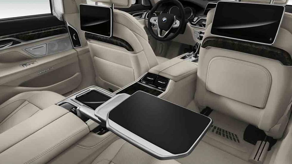 Nuevo BMW Serie 7 2015 interior