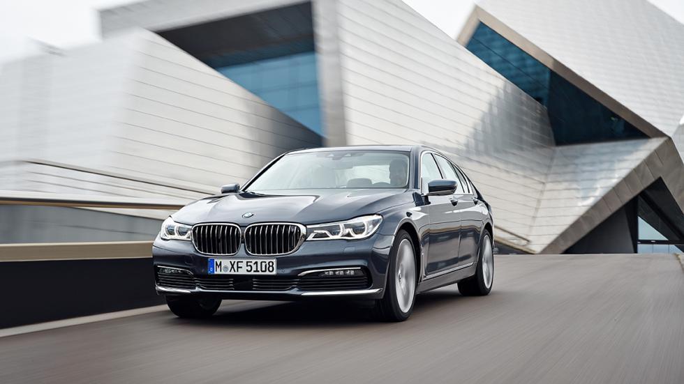 Nuevo BMW Serie 7 2015 frontal