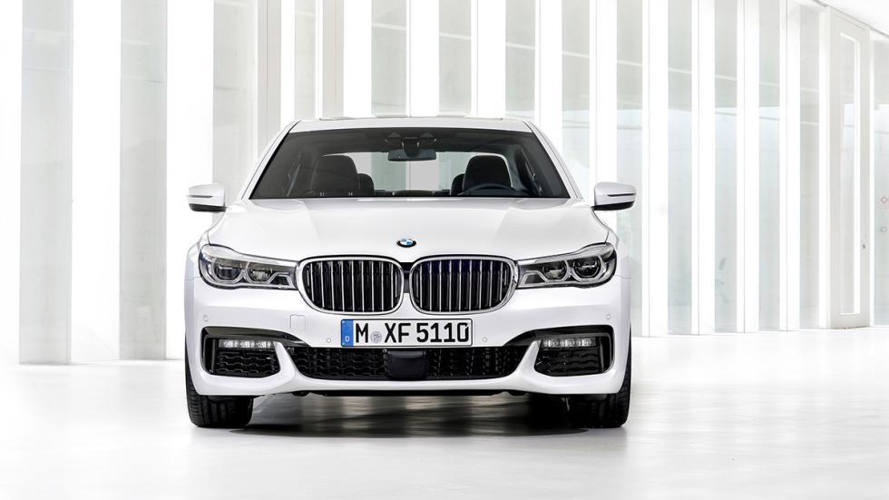 Nuevo BMW Serie 7 2015 parrilla