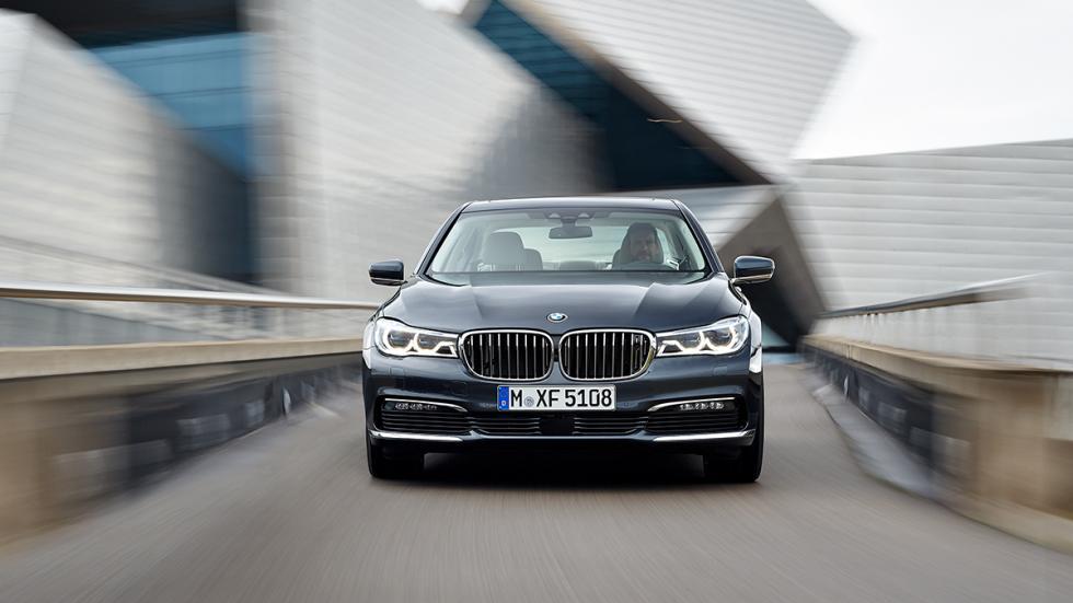 Nuevo BMW Serie 7 2015 faros led