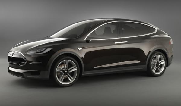 Tesla Model X frontal