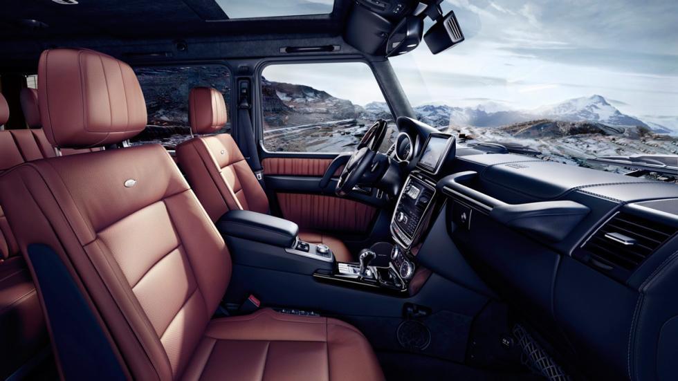 Mercedes Clase G 2016 interior