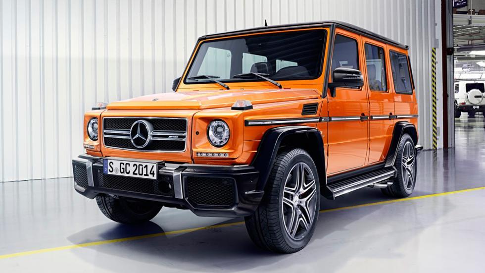 Mercedes Clase G 2016 naranja