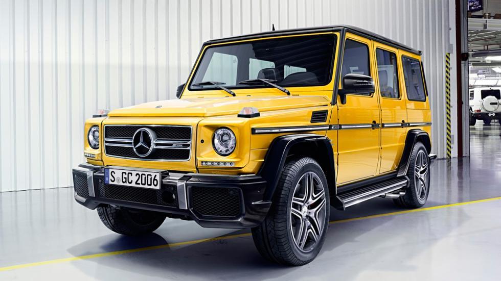 Mercedes Clase G 2016 amarillo