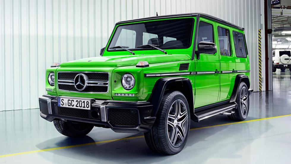Mercedes Clase G 2016 verde
