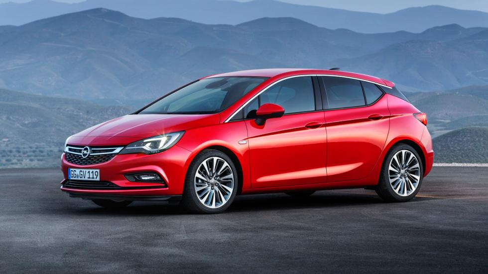 Opel Astra 2016 lateral