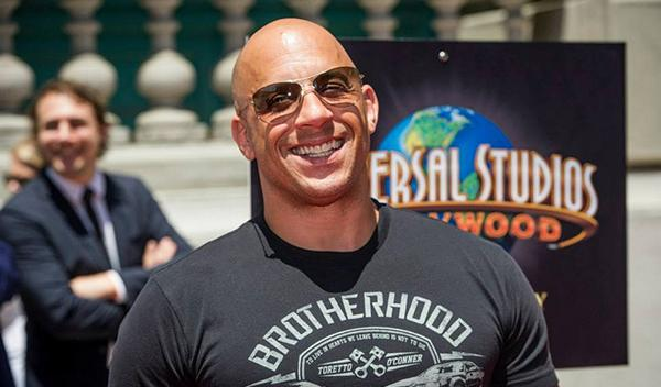 Vin Diesel en la presentación de Fast and Furious Supercharged