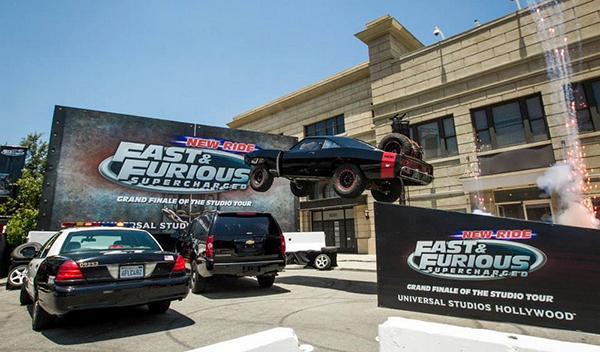 Presentación en Universal Studios de la nueva atracción de 'A todo gas'