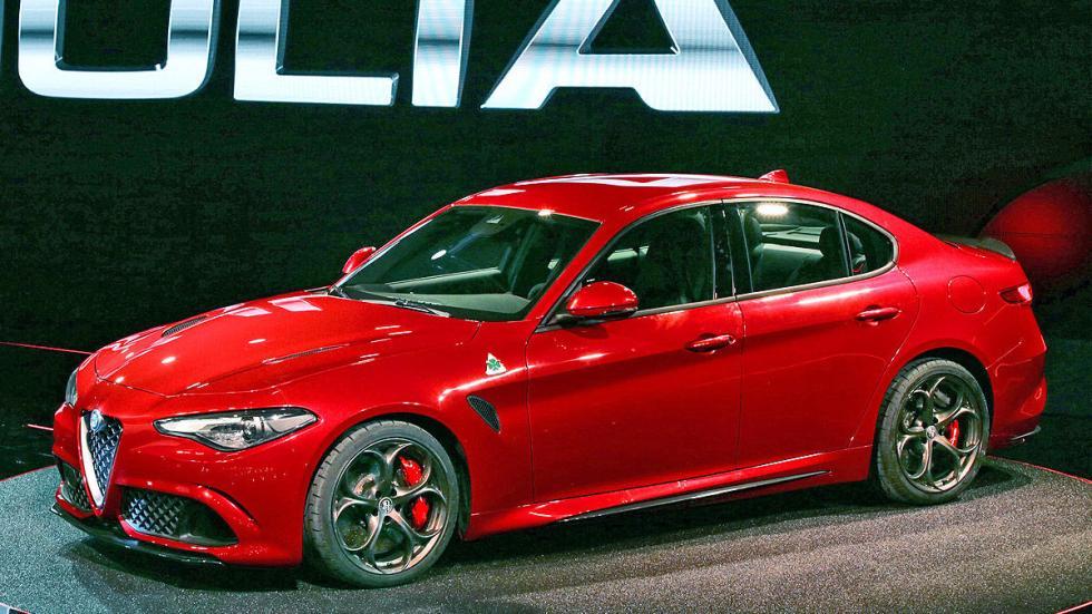 Alfa Giulia lateral