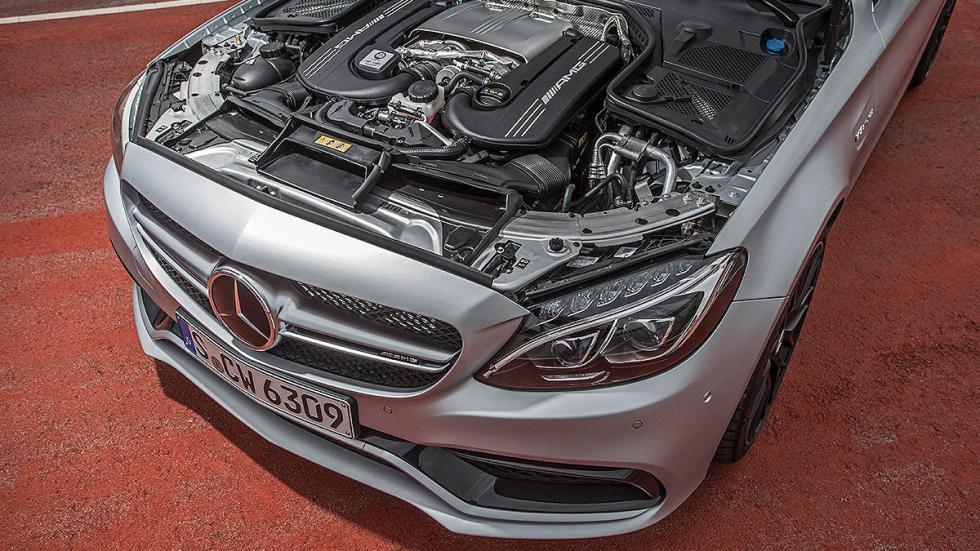 Mercedes C 63 S motor