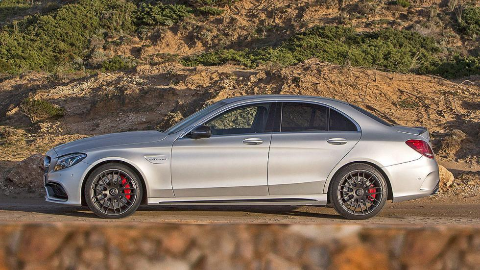 Mercedes C 63 S lateral
