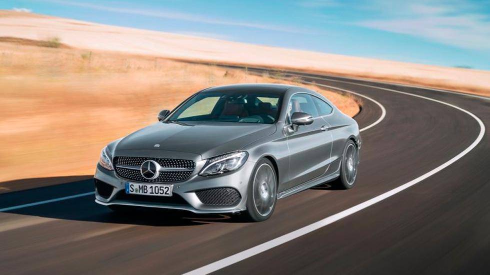 Mercedes Clase C Coupé 2015 dinamica