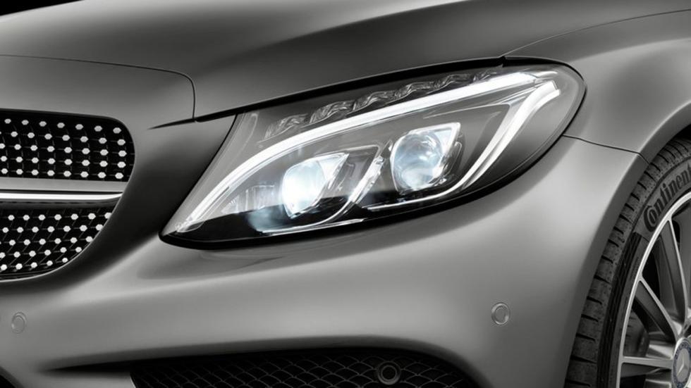 Mercedes Clase C Coupé 2015 faro delantero