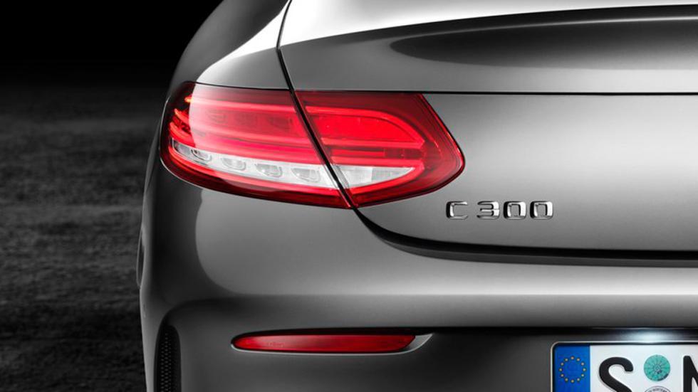 Mercedes Clase C Coupé 2015 faro trasero