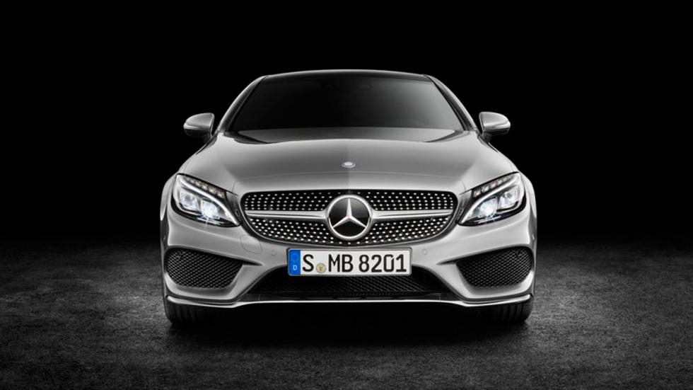 Mercedes Clase C Coupé 2015 frontal