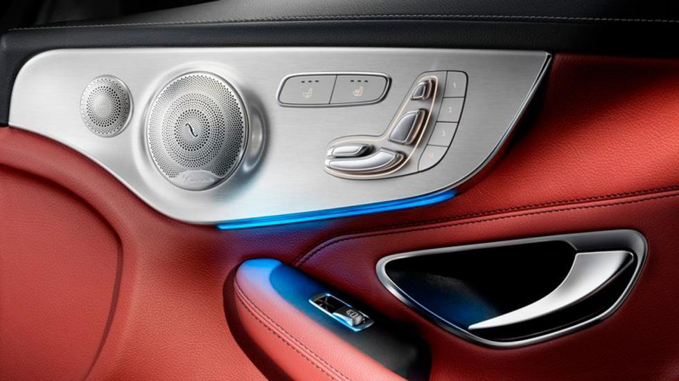 Mercedes Clase C Coupé 2015 puerta