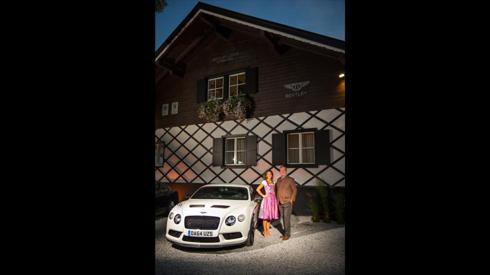 Refugio de montaña de Bentley en los Alpes austriacos