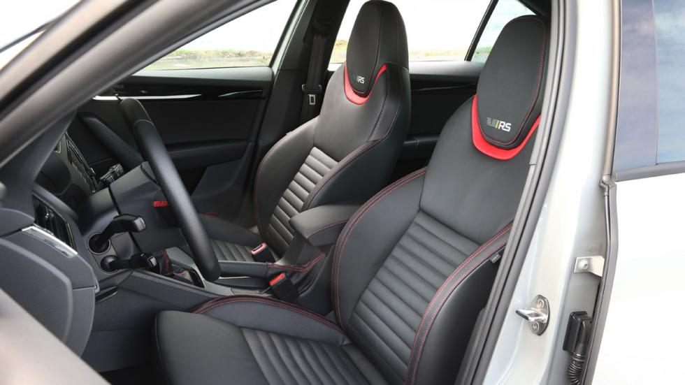 Skoda Octavia RS 230 2015 interior