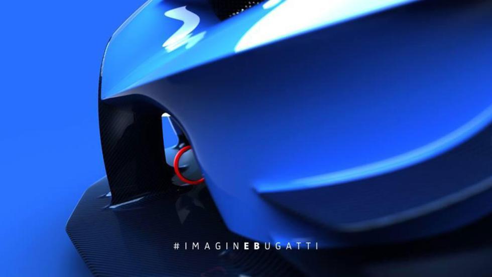 Bugatti Vision Gran Turismo carrocería