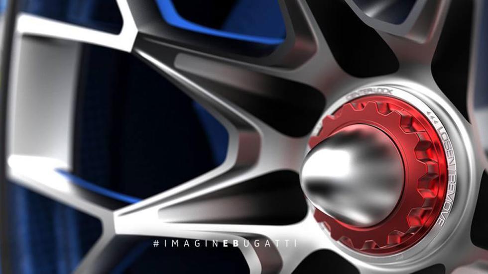 Bugatti Vision Gran Turismo ruedas