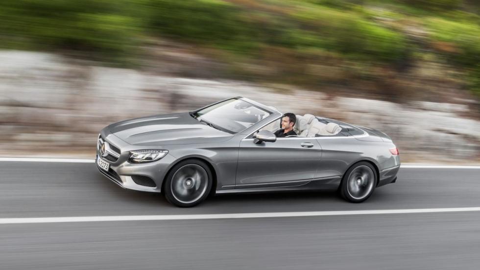Mercedes Clase S Cabrio 2016 dinamica