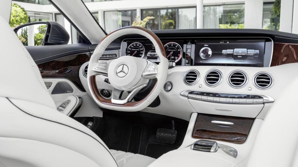 Mercedes Clase S Cabrio 2016 salpicadero