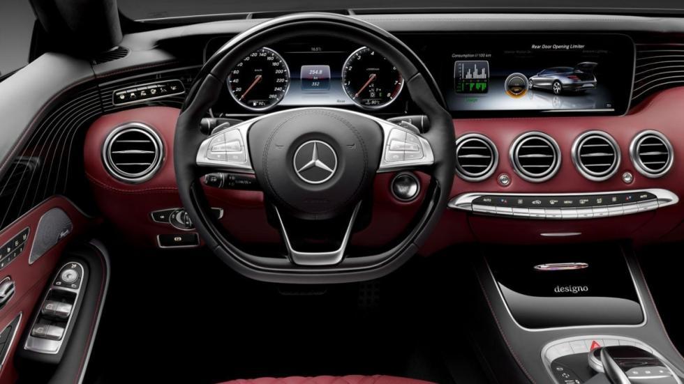 Mercedes Clase S Cabrio 2016 volante