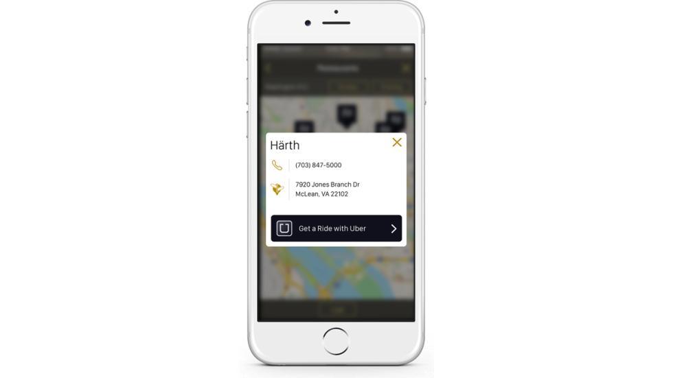 app HHonors alianza Uber Hilton 4