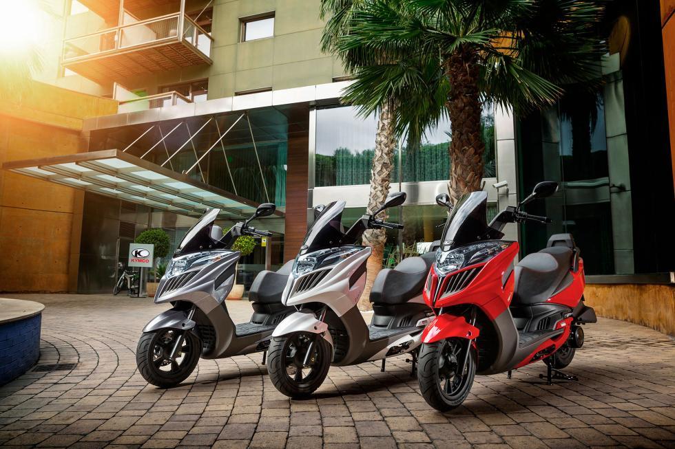 Kymco-scooters-líder de ventas