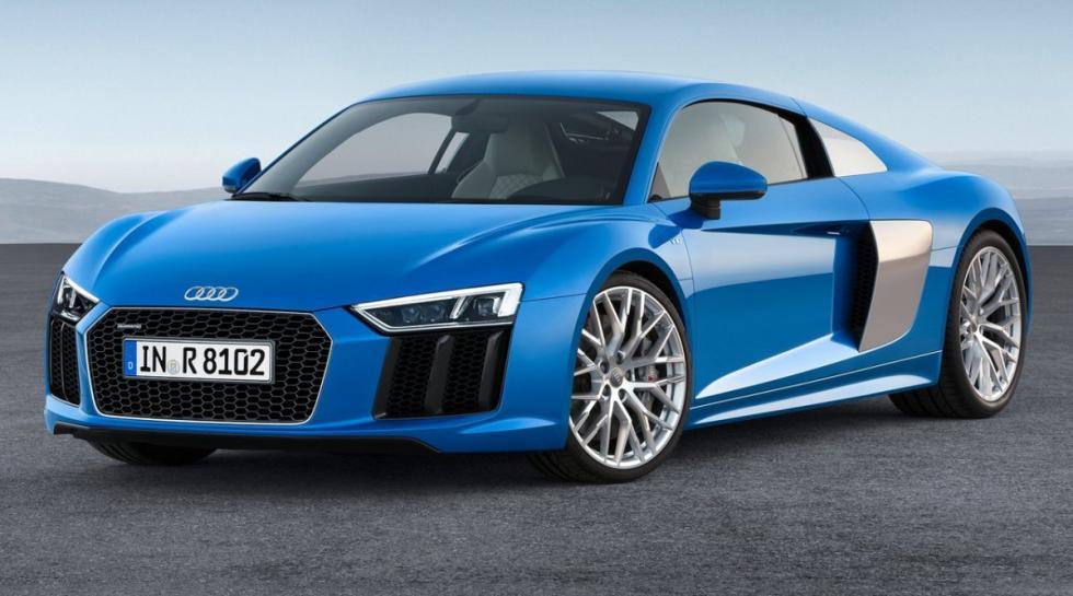 Audi R8 delantera
