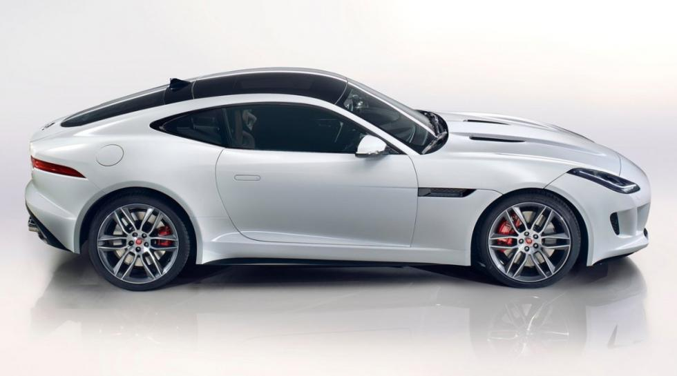 Jaguar F-Type Coupé R lateral