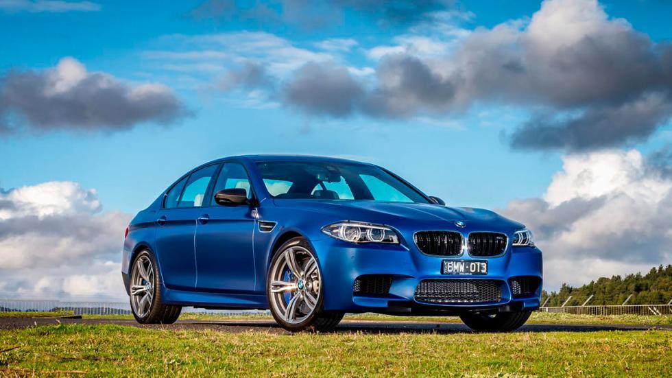 BMW M5 pure delantera
