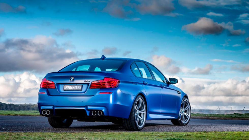 BMW M5 pure trasera