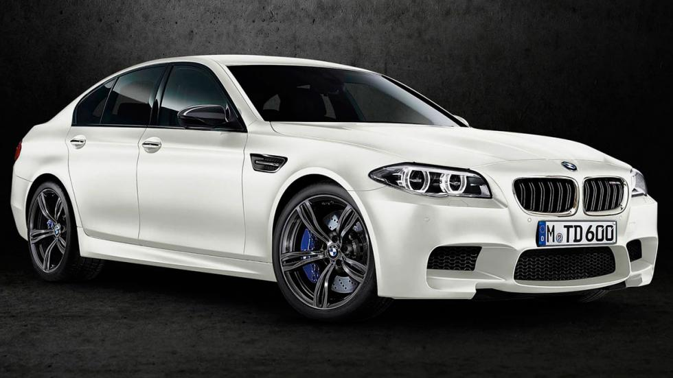 BMW M5 White Shadow delantera