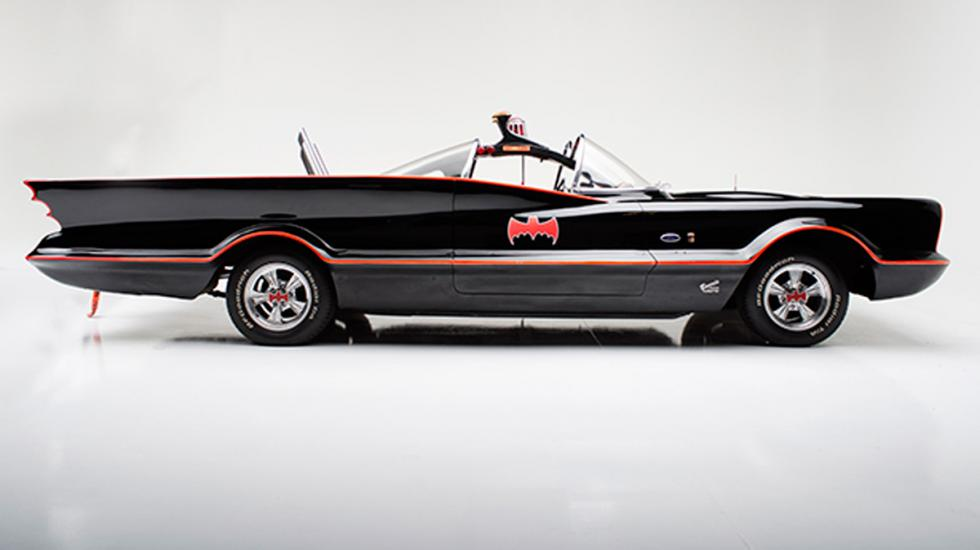 Batmóvil 1966 perfil
