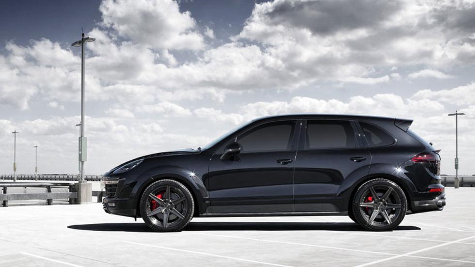 Porsche Cayenne Vantage lateral