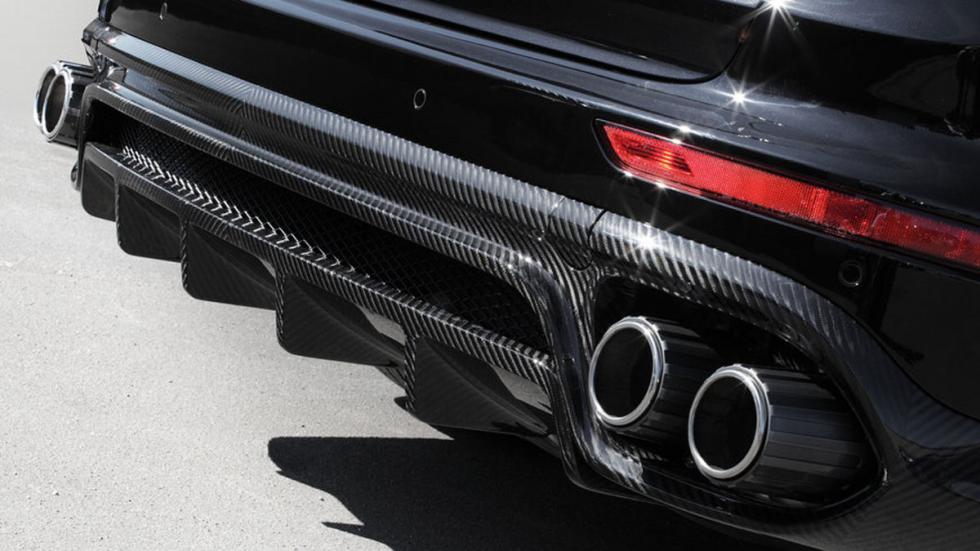 Porsche Cayenne Vantage trasera