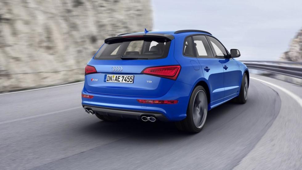 Audi SQ5 TDI Plus dinamica trasera