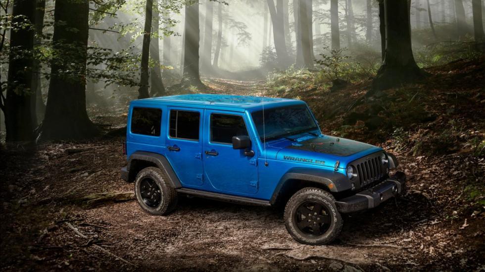Jeep Wrangler Black Bear bosque