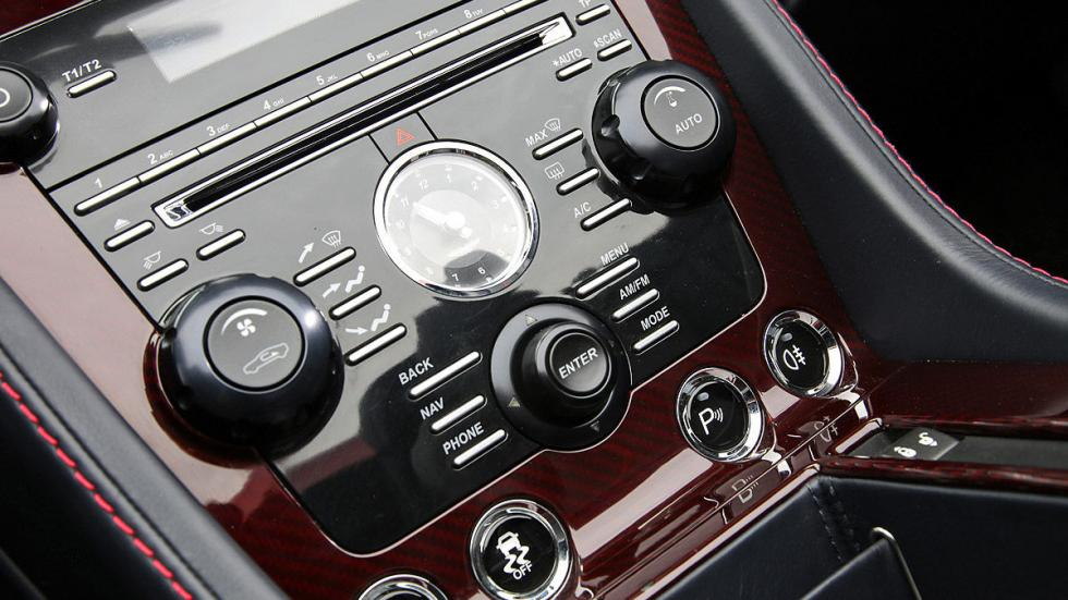 Prueba: Aston Martin V12 Vantage S Roadster consola